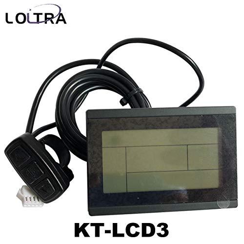 36V 48V Intelligent KT LCD3 Electric Bicycle Display E-Bike LCD Bike Panel
