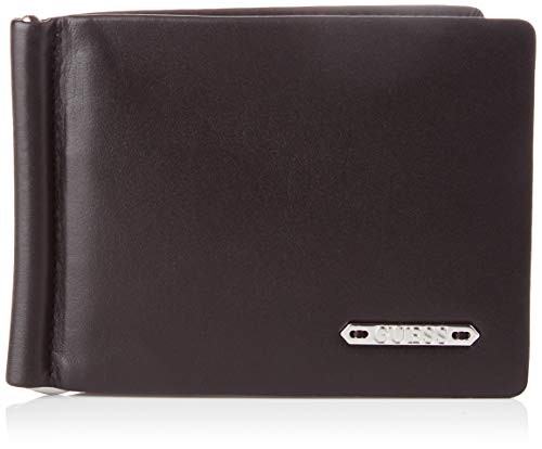 Guess Clive Billfold W/Coin Pocket, Small Leather Goods Hombre, Negro, Uni