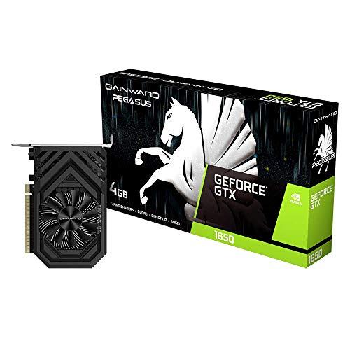 Gainward Europe 426018336-4467 - Scheda grafica GeForce GTX 1650 4 GB GDDR5 (GeForce GTX 1650, 4 GB, GDDR5, 128 bit, 4096 x 2160 Pixel, PCI Express x16 3.0)