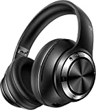 Picun 100 Hours Low Latency Bluetooth Headphones Wireless Gaming Headphones Over Ear Foldable Hi-Fi Stereo Bluetooth 5.0 Headset with HD Noise Reduction Mic for Adults Cellphone TV Home Office Class