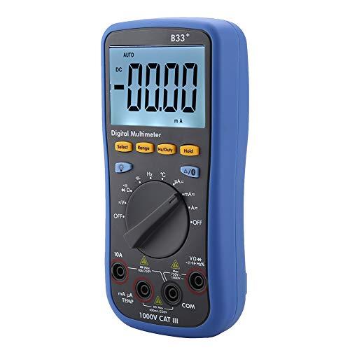 Multímetro Bluetooth 3 en 1 voltaje digital AC/DC corriente de lectura de...