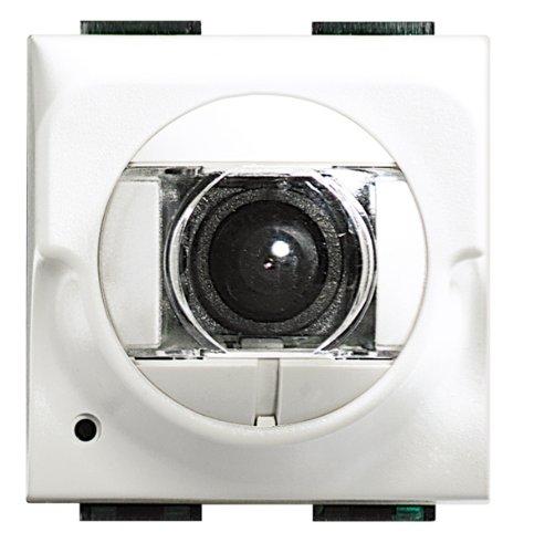 Bticino sistema 2 hilos - Telecamara tlc 2 hilos color axolute blanco