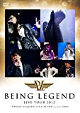 "LIVE DVD""BEING LEGEND""Live Tour 2012 -T-BOLAN,B.B.QUEENS,FIELD OF VIEW Special Guest DEEN-"
