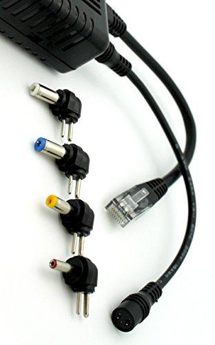 Amcrest Active PoE Splitter Adapter, IEEE 802.3af compliant, Up To 100 meters, 5V / 12V Output