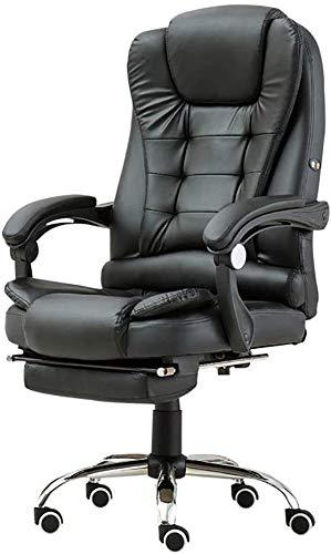 LAMTON Bürocomputer Stuhl Heim Drehbare Massagesessel Hebe Verstellbarer Stuhl Geschäfts Comfort Stuhl mit Fußstützen