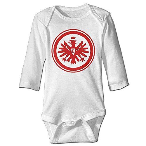 Monicago Neugeborenes Baby-Jungen-Mädchen-Bodysuit-Lange Hülse, Baby's Eintracht Frankfurt Climbing Clothes...