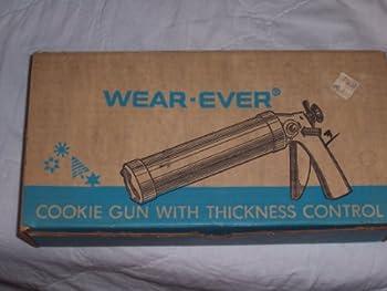 Vintage Wear Ever 1950 s Aluminum Cookie Gun & Pastery Decorator W/recipe Card