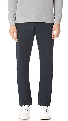Norse Projects Men's Aros Heavy Pants, Navy, Blue, 30