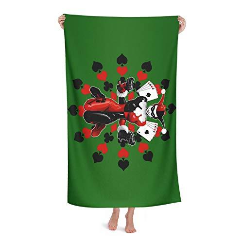 41wDy3pDupL._SL500_ Harley Quinn Bath Towels