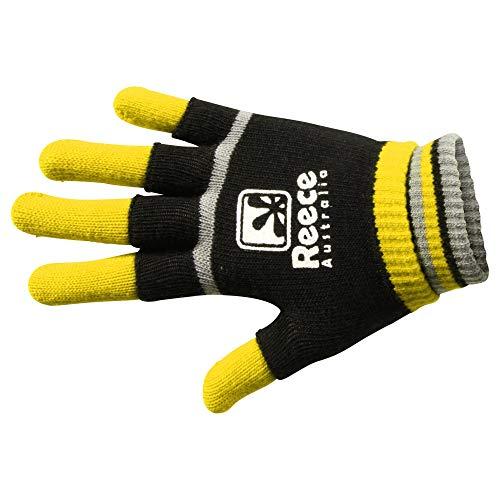 Reece Hockey Feldhandschuh 2 in 1 - Yellow-Black, Größe Reece:JR