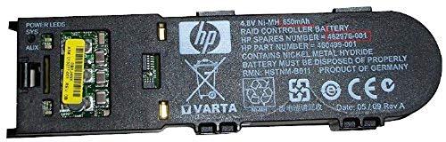 Hewlett Packard Enterprise 462976-001 Batterie Rechargeable Hybrides Nickel-métal (NiMH) 650 mAh 4,8 V - Batteries Rechargeables (650 mAh, Hybrides Nickel-métal (NiMH), 4,8 V, Noir, 1 pièce(s))