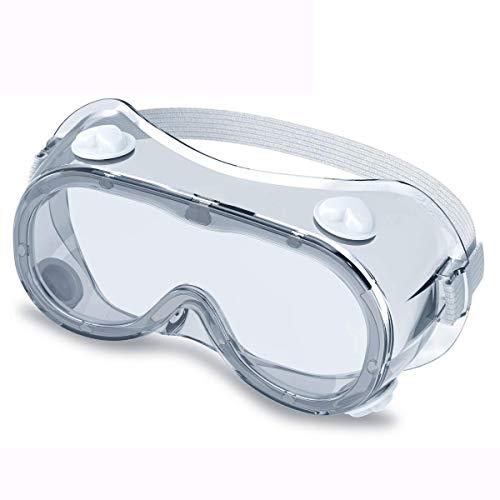 Schutzbrille Vollsichtbrille Überbrille Schleifbrille für Brillenträger Anti Nebel Schutzbrillen Arbeit Laborbrille