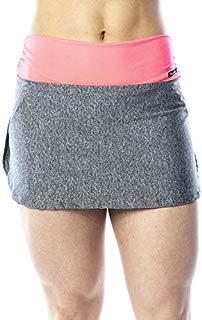 Saia Short Fitness Cinza Cor :Cinza;Tamanho:G (G, Cinza)