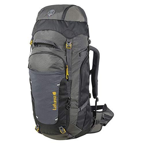 Lafuma - Access 65+10 - Mochila Unisex para Senderismo, Trekking y Viaje - Volumen Extensible 65+10 L - Gris/Negro