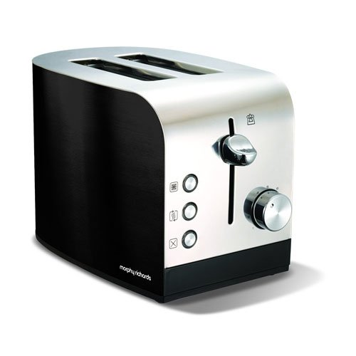 Morphy Richards 44209 - Tostapane tradizionale Accents, colore: nero
