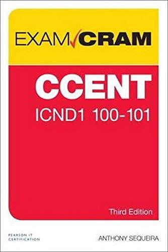 CCENT ICND1 100-105 Exam Cram