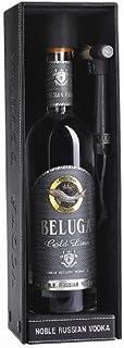 Beluga Gold Line Russische Föderationn Vodka 40% vol. im Lederbehälter, 1 KARTON: 6 Flaschen je 0,7L