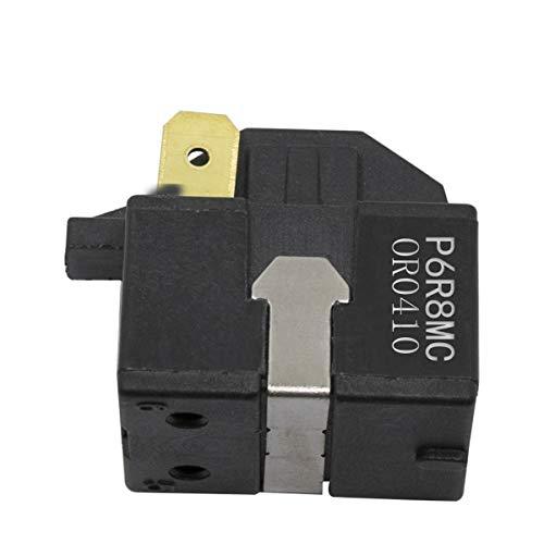 PTC Starter Compressor Start Relay Replacement For LG Magic Chef Refrigerator/dehumidier P6R8MC 1 pin