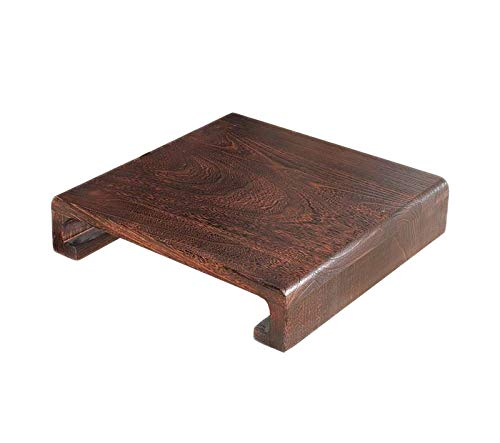 AILY Solid Wood Step Stool, Creative Deco Small Toddler Child Wooden Chair Foot Stool Step | Pinewood | Perfect for Children, Kids, Feet, Nursery & Kitchen