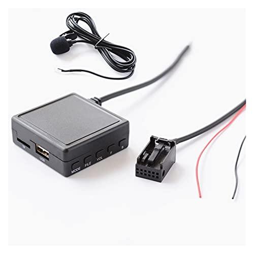 Qinndhto Radio de Coche Bluetooth AUX USB Llamada telefónica a la Mano. Opel CD30 CD70 Adaptador de Cables estéreo AUX Inalámbrico Entrada de Audio inalámbrica Adaptadores