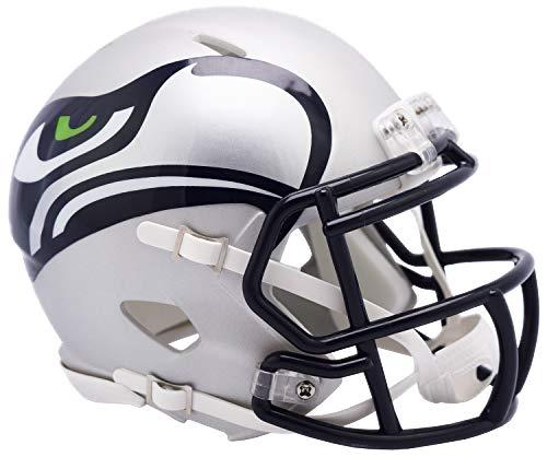 Seattle Seahawks Riddell NFL AMP Mini Helm Groß