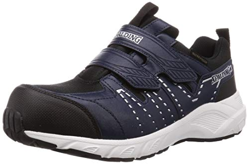 [スポルディング] 安全靴 作業靴 JSAA A種先芯 防水 幅広 メンズ 6E JIN 3680 ネイビー 29.0 cm G