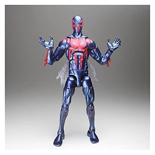 Figura de acción Legends Tony Pizza Scarlet 2099 Spider-Man Dead-Pool Hydra Action Figure Flow Collection Hot Venta (Color : 2099)