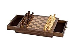 top rated CHH Imports Magnetic Walnut Cafe Chess Game 2021