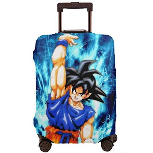 Funda de Equipaje de Viaje Protector de Cubierta de Maleta de Dragon Ball Anime Fundas de Equipaje Lavables TAG-024