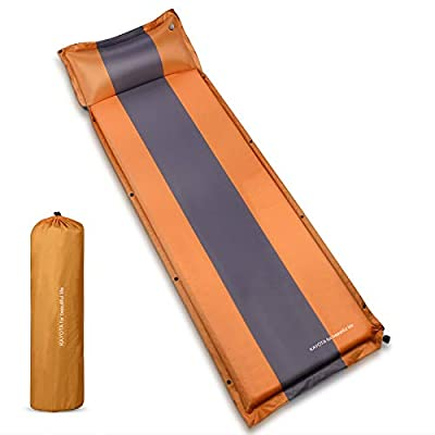 KAYOTA Lightweight Self Inflating Sleeping Pad with Pillow, Thick Foam Camping-Mat?Portable Sleeping Mat Camping Pad for Hiking, Backpacking and Outdoor Adventures