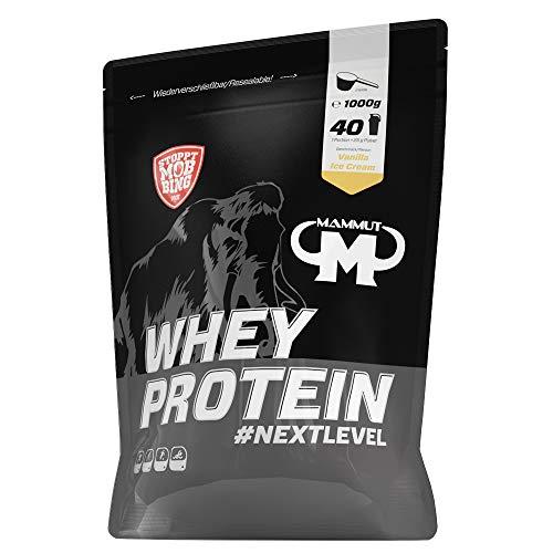 Mammut Nutrition Whey Protein Vanilla Ice Cream, 1000 g