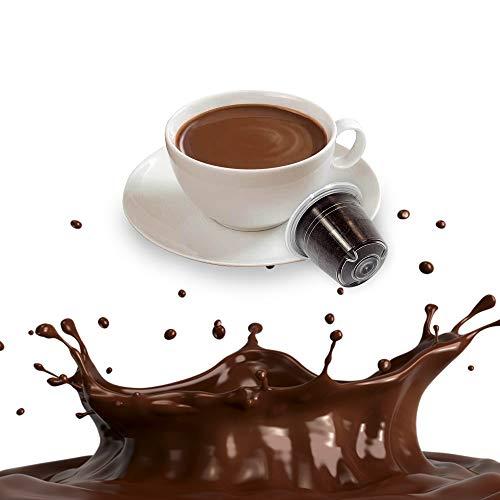 10 Capsule Cioccolata Solubile Compatibili Nespresso - Cialde solubili al Cioccolato