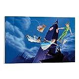 DIDIWEI Big Ben Peter Pan Poster dekorative Malerei