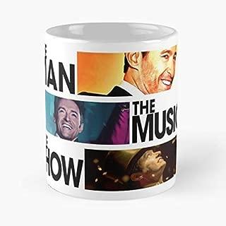 The Man Music Show Hugh Jackman Coffee Mugs Unique Ceramic Novelty Cup