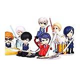 WHALLO 8pcs / Tokyo Ghoul FigureTokyo Ghoul Figuras, PVC Anime Cartoon Manga Juego Personaje Modelo ...