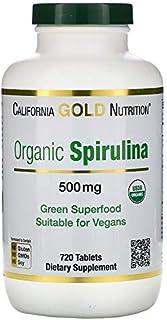 Spirulina, Vegetarian, 500 mg, 720 Tablets