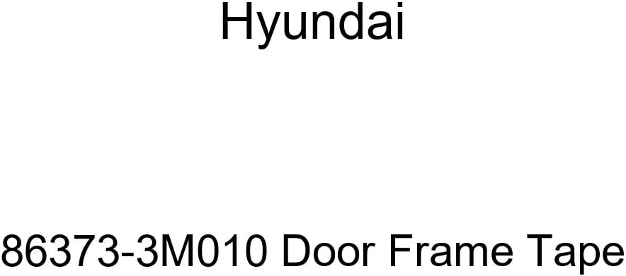 Genuine Max 56% OFF Hyundai 86373-3M010 Frame Tape Outlet ☆ Free Shipping Door