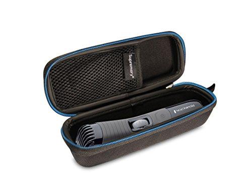 Supremery Poche pour Remington Beard Boss Professional Tondeuse à Barbe MB4130 Boîte Coquille de Protection Étui Sacoche de Transport