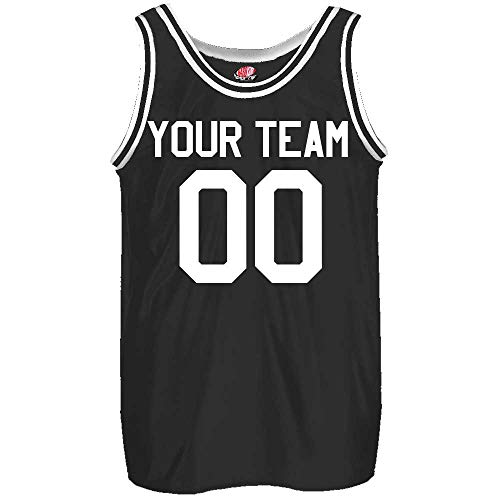 basketball shirts Old School Custom Slim Fit Basketball Jersey Includes Your Team Player Names and Numbers