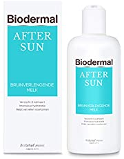 Biodermal After Sun Bruinverlengende melk - ondersteunt het natuurlijk herstellend vermogen van de huid - 200ml