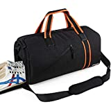Songwin Gym Sports Duffel Bag with Shoes Compartment Water Resistant Gym Gear Bag