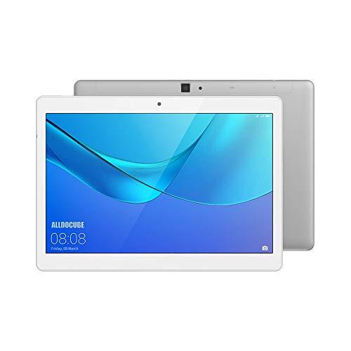 ALLDOCUBE M5X 4G Tablet, 10.1 Zoll 2560x1600 JDI Display Tablet-PC mit SIM Karte, MTK X27 Deca Core, 4GB RAM, 64GB ROM, Android 8.0, 2MP/5MP, Silber