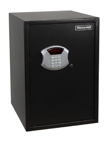 Honeywell Safes & Door Locks 5107 Large Steel Security Safe HONEYWELL-5107 Large, 2.87-Cubic Feet, Black, Large