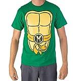 Teenage Mutant Ninja Turtles TMNT Mens Costume T-Shirt (Orange, Large)