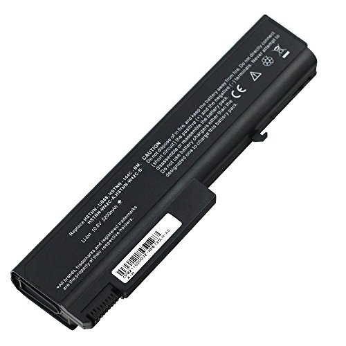 Bay Valley PartsNew Laptop Battery for HP compaq EliteBook 6930P 8440p 8440w KU531AA 6535b 6530b 6730b Li-ion 6 Cell 10.8v 5200mAh/56WH
