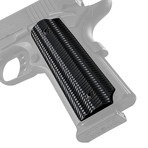 VZ Grips Alien 1911 Grip, Superior Comfort, Superior Control, Made in The USA, Black, Full Size, 2 Panels