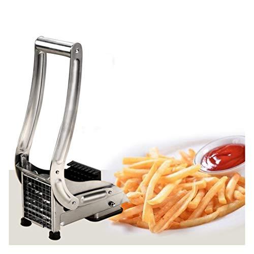 Acero inoxidable Fry francesa patata Patatas fritas, cortador para las zanahorias, las patatas pequeñas, bastones de vegetales