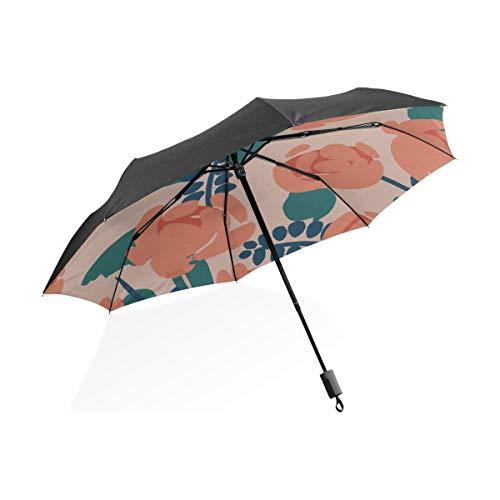 Paraguas Golf Grande Hombre Naranja Marca XiexHOME