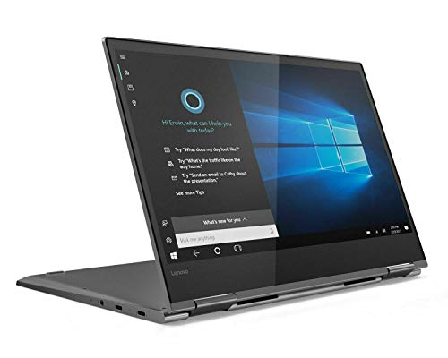 Lenovo Yoga 730-13IWL 13.3' Full HD Touch Convertible LaptopIntel Core i7-8565U 8GB RAM 512GB SSD Backlit Keyboard FP, Lenovo Active Pen 2, Windows 10 Home Grey - 81JR0071UK