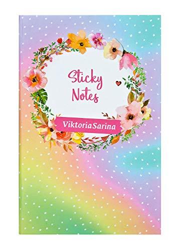 Undercover GmbH VSIN0775.Z Sticky Notes im Viktoria Sarina Design, Verschiedene Haftnotizblöckchen im handlichen Format, bunt